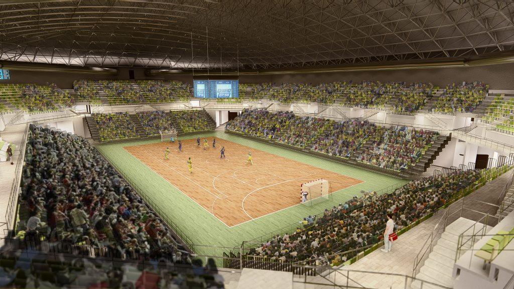 Olivo Arena, nuevo pabellón del Jaén Paraíso Interior FS